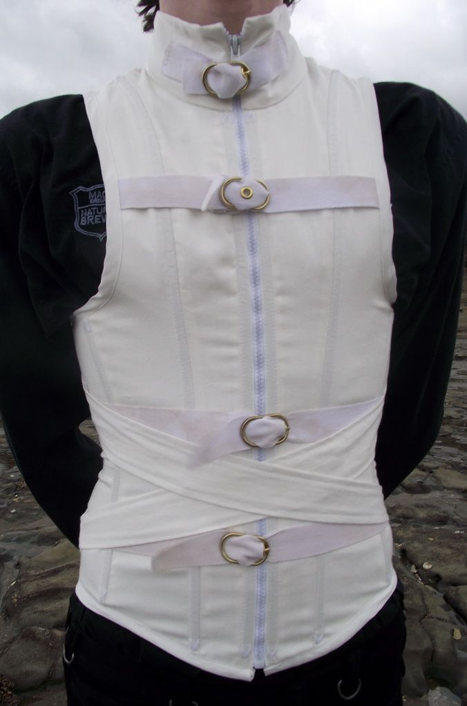 Men S Straight Jacket Corset Front By Vic Dustrael On