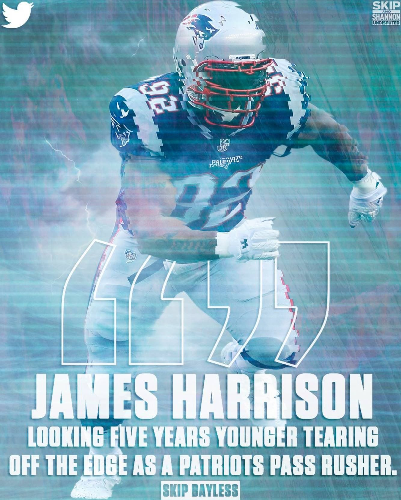 James Harrison Now With The Patriots Coming Over From The Steelers James Harrison New England Patriots Patriots