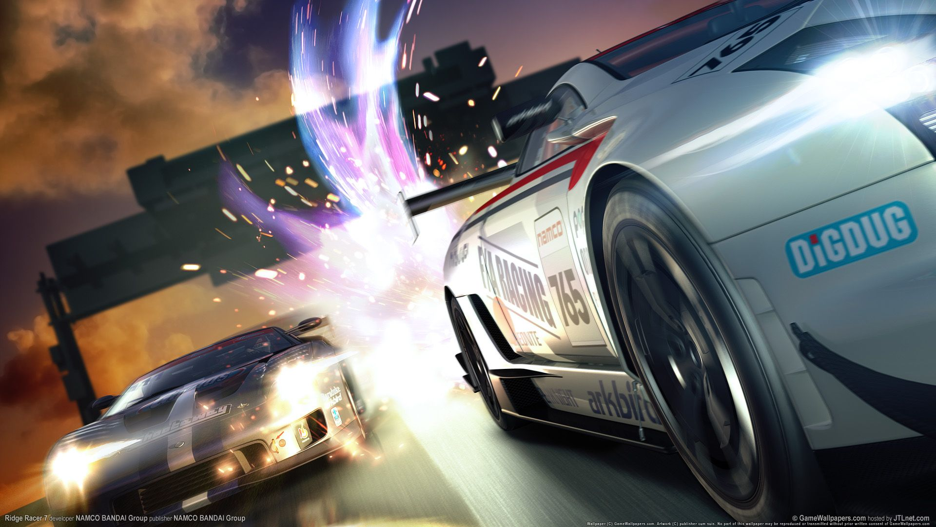 ridge racer latest game - this hd ridge racer latest game wallpaper