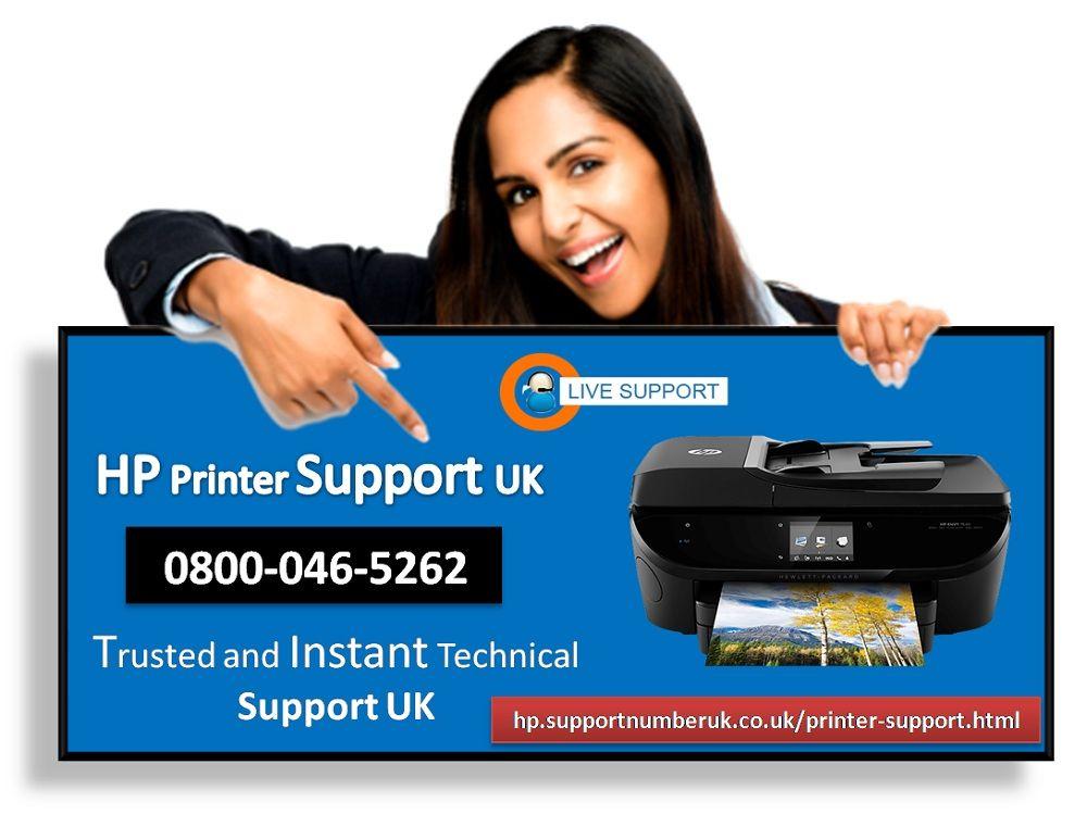 Hp Printer Technical Support Uk Helpline Number 0800 046 5262 Hp