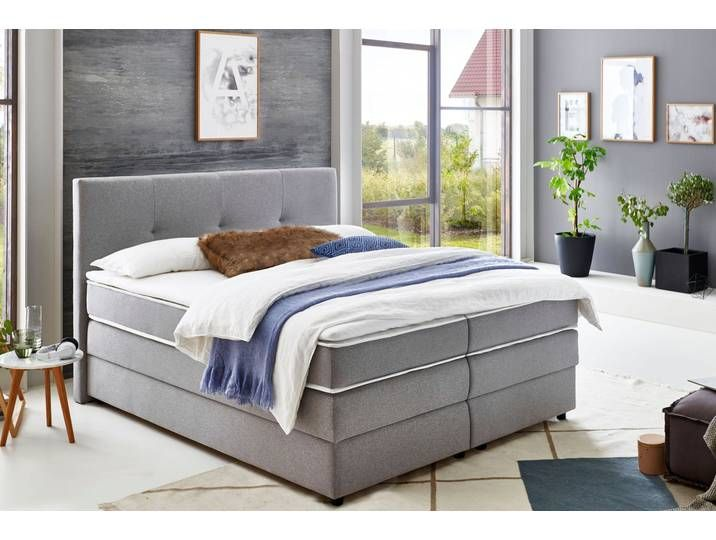 Atlantic Home Collection Boxspringbett Mit Bettkasten Und Topper