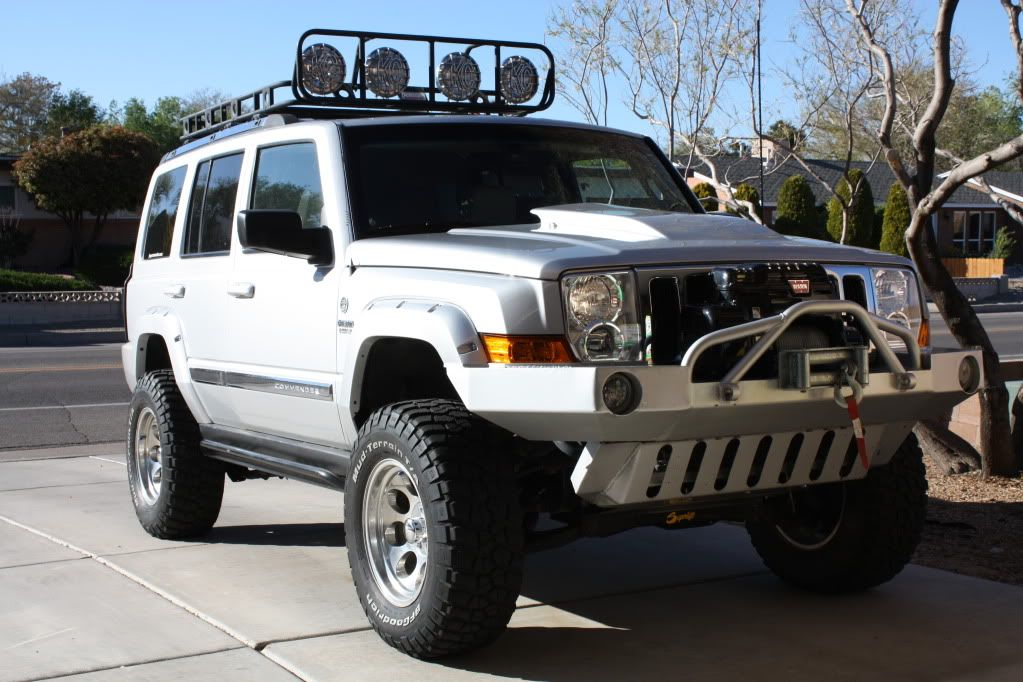 Lost Jeeps View Topic Nice Commander 4 Superlift And 285 S
