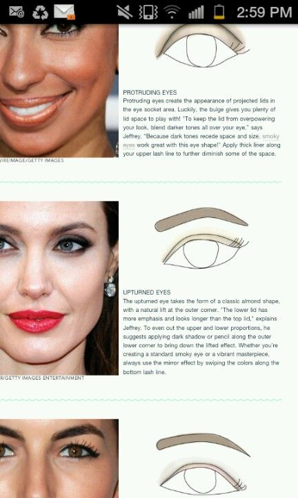 Interesting That Me Angelina Jolie Have The Same Eye Shape