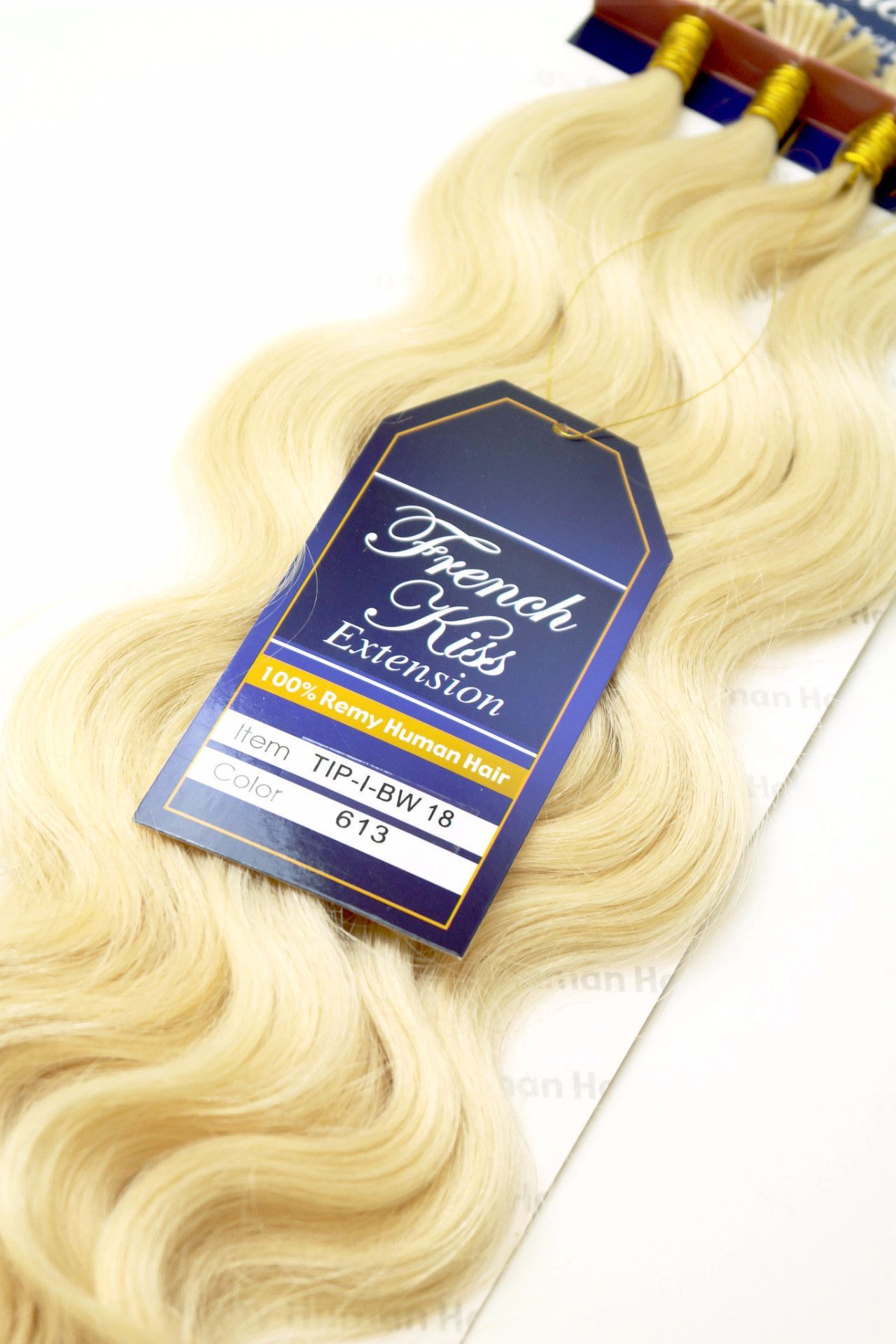 French Kiss I Tip 18 100 Remy Human Hair Extension By Jazz Wave