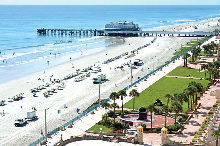 0e844be021c34 The Daytona Beach Boardwalk runs from the Ocean Walk Shoppes south to Main  Street s pier. Day Tripping From Orlando - Orlando Magazine - June 2015 -  Orlando ...