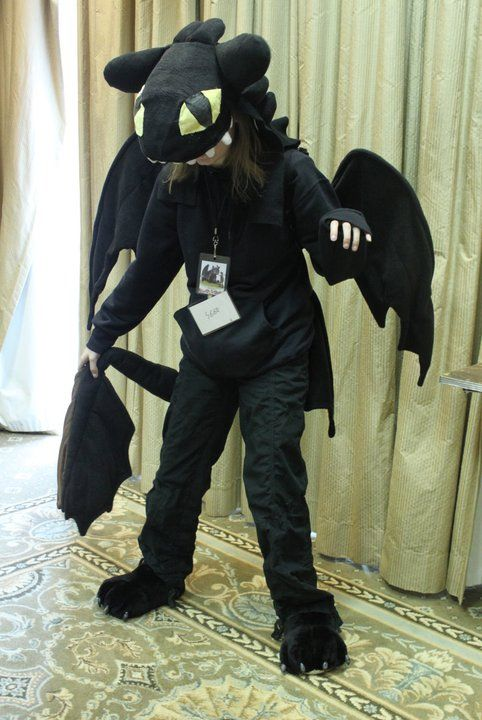 Toothless Costume By Rawrsuitgirl Deviantart Com On