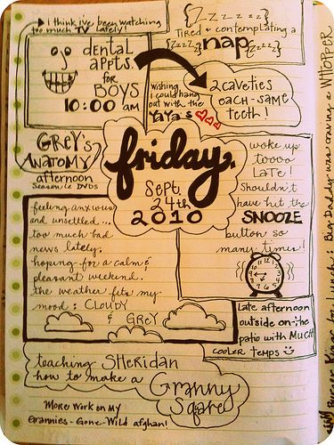Want to start a journal like this.. Get creative everyday :)