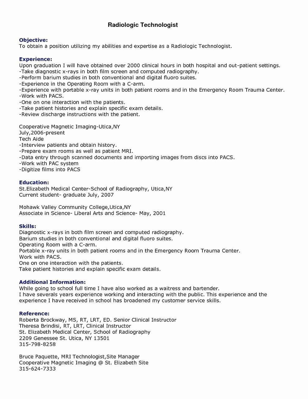 Surgical Tech Resume Example Elegant 12 13 Surgical