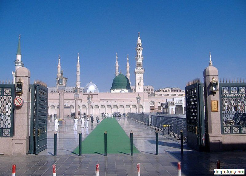 Masjid Al Nabawi Hd Islamic Wallpapers Free Download Islamic
