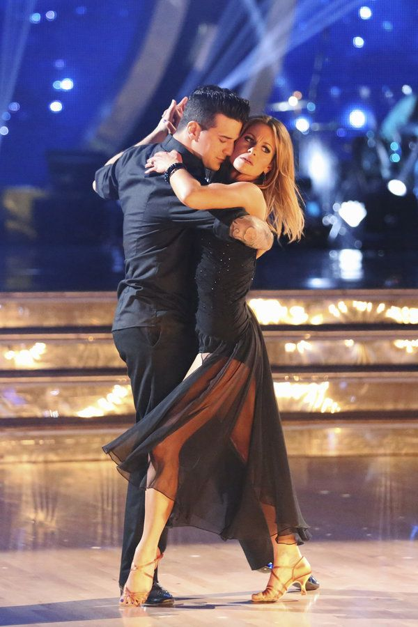 Mark Ballas And The Prude Candace Dancing With The Stars Mark Ballas Candace Cameron Bure
