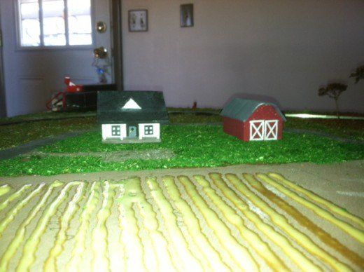 How To Make N Scale Scenery    Grass, Trees and more