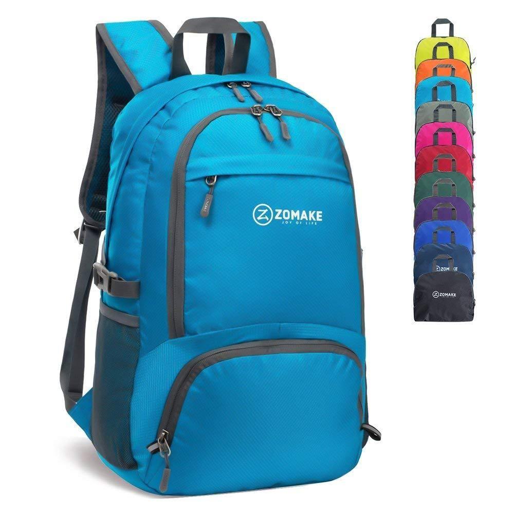 DooGu Lightweight Backpack Waterproof 30L Hiking Daypack Foldable Camping bag Outdoor Backpack /…