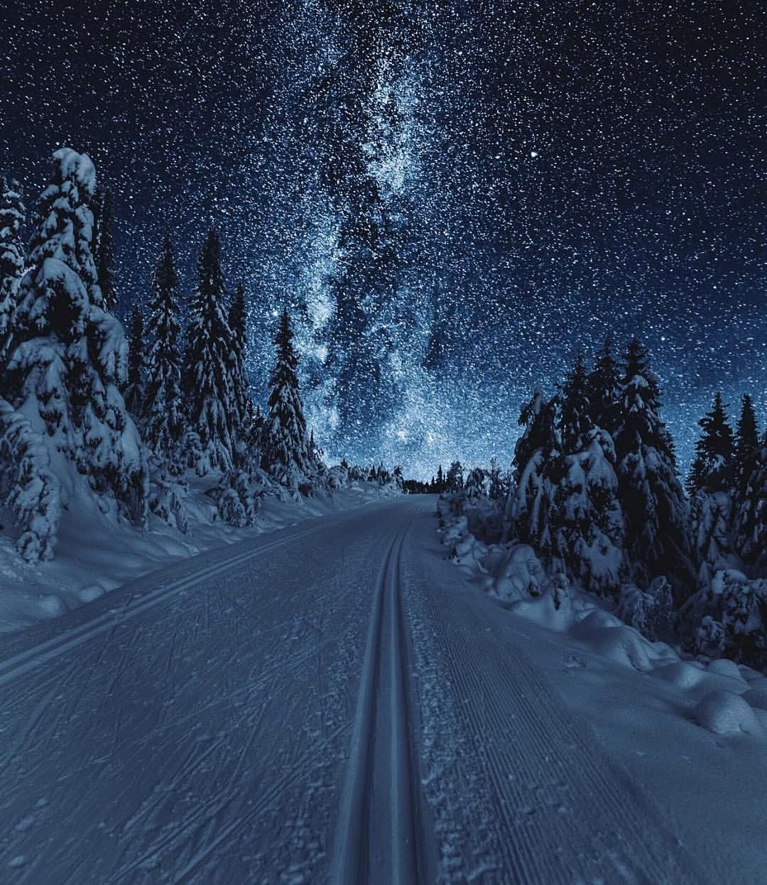 Norway Norge On Instagram Skiing Under The Stars In