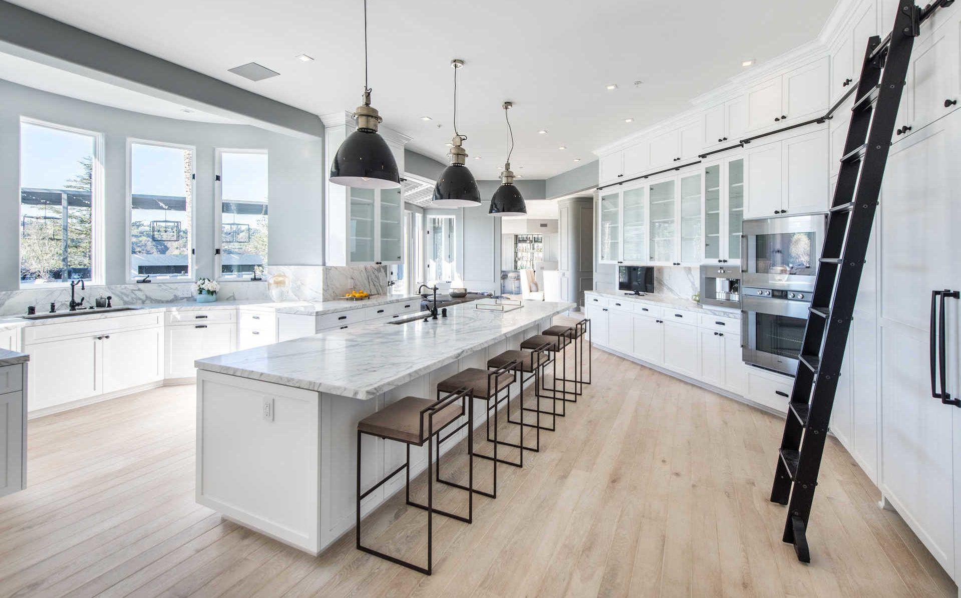 35 Million Dollar Beverly Hills Mansion Mansion Kitchen Luxury