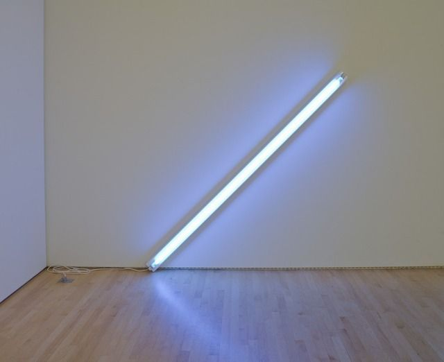 Dan Flavin The Diagonal Of May 25 1963 1963 Artsy Dan Flavin Artwork Light Art