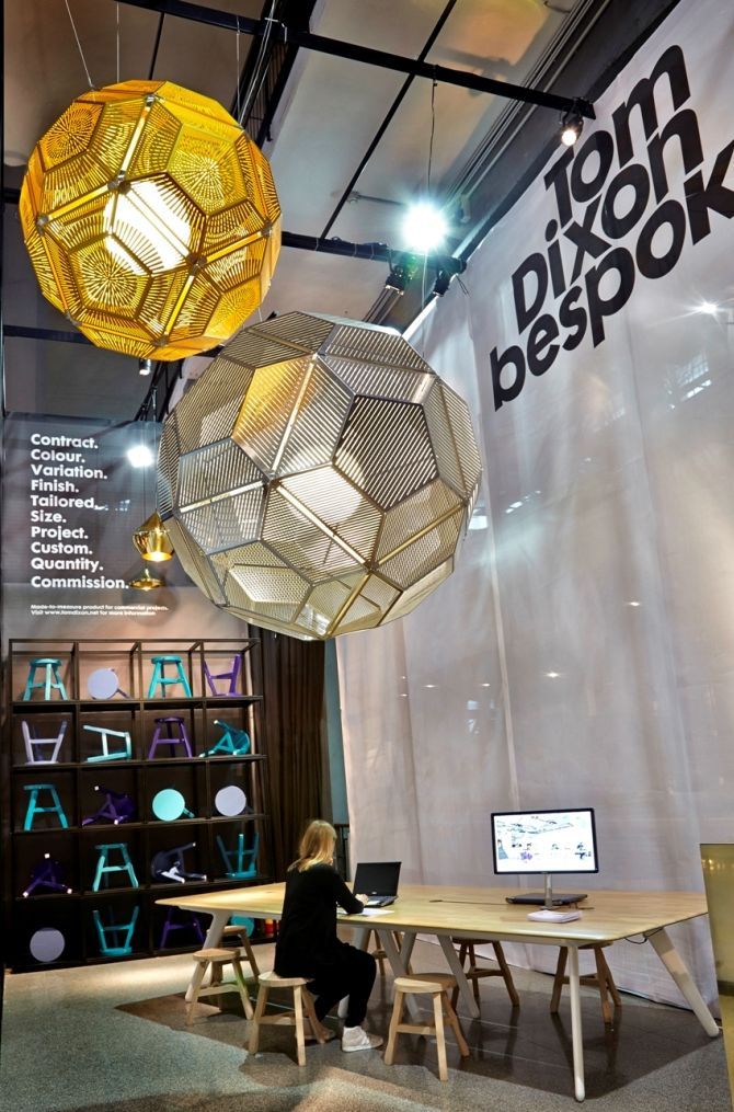 The unveiled new colection of Tom Dixon at MOST 2013 | UNIQUE