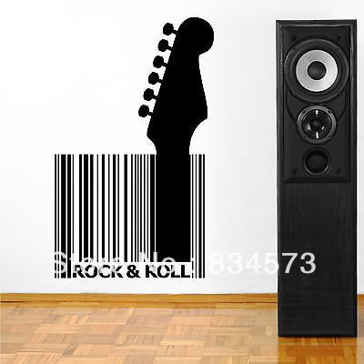 Rock And Roll Wall Decor Bedroom Decoration