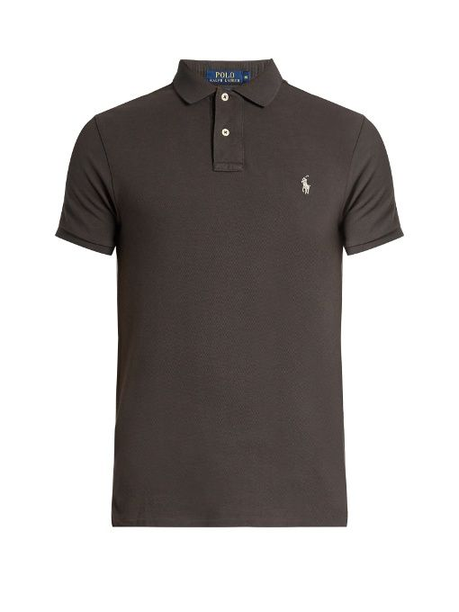 1ef29c4364 Polo Ralph Lauren Slim-fit cotton-piqué polo shirt
