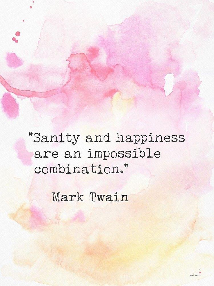 'Mark Twain quote five' by Pagarelov