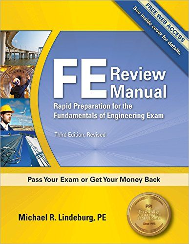 Fe Review Manual Rapid Preparation For The Fundamentals Https Www Amazon Com Dp 1591263336 Ref Cm Sw R Pi Dp X Ibo Engineering Exam Download Books Ebook