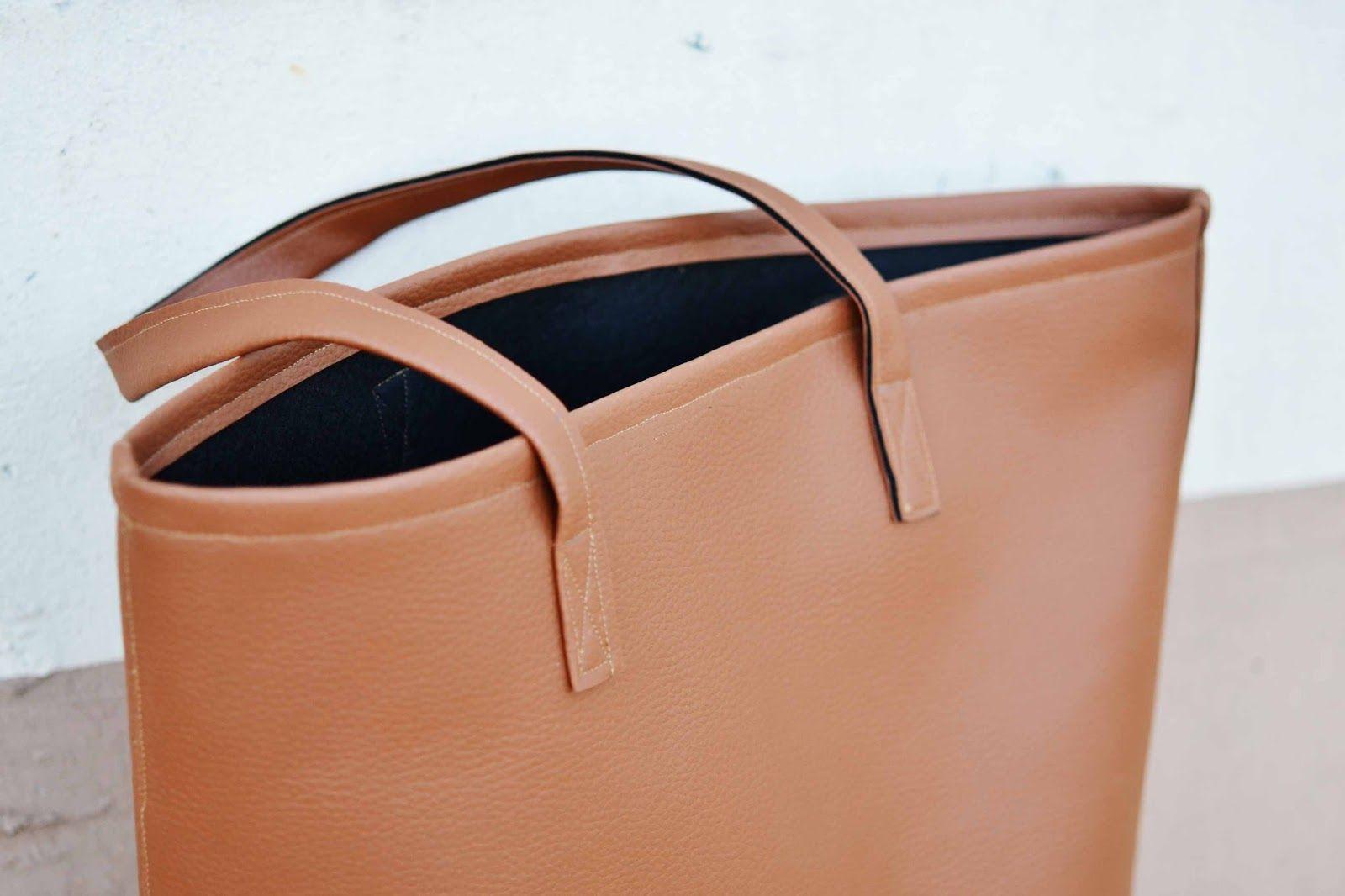 *Squeaky Swing: DIY: Tasche aus Lederimitat