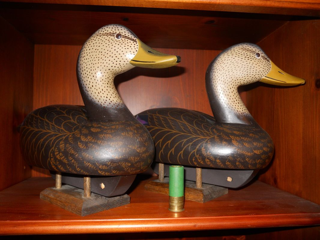 For Sale -JOHN MEREDITH DECOYS FROM STILL POND MARYLAND HIGH HEAD ...