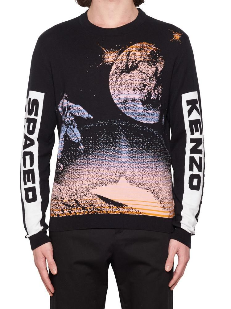 d708d6cc KENZO KENZO SPACED OUT GRAPHIC PRINT SWEATER. #kenzo #cloth | Kenzo ...
