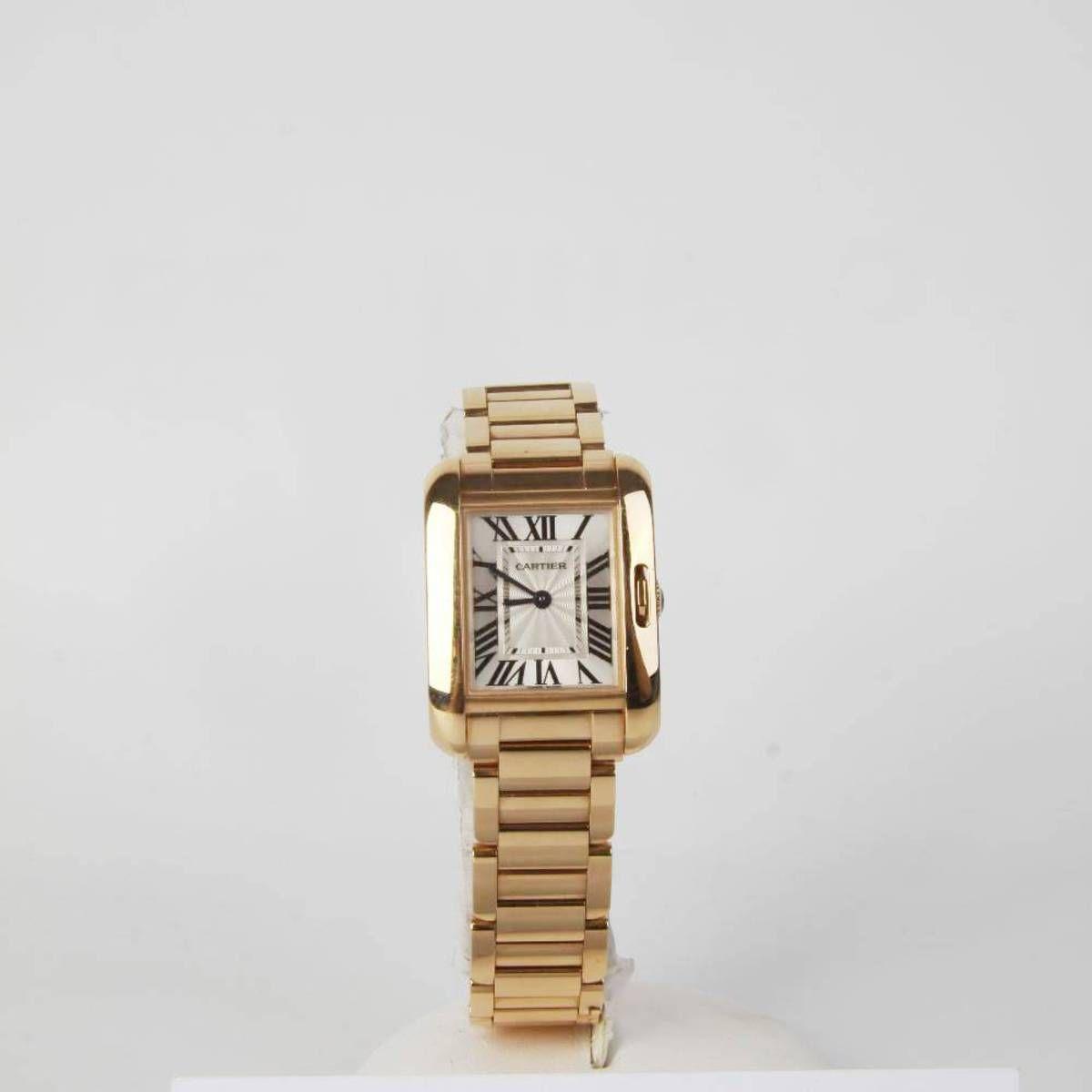 Reloj CARTIER TANK ANGLAISE de oro rosa de 18 kilates E274530 ... 65320516a957