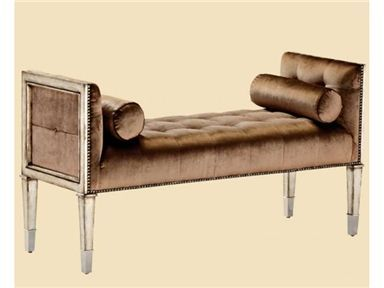 Elite Furniture Gallery NC Furniture Marge Carson Bossa Nova Bench BOS48u2026