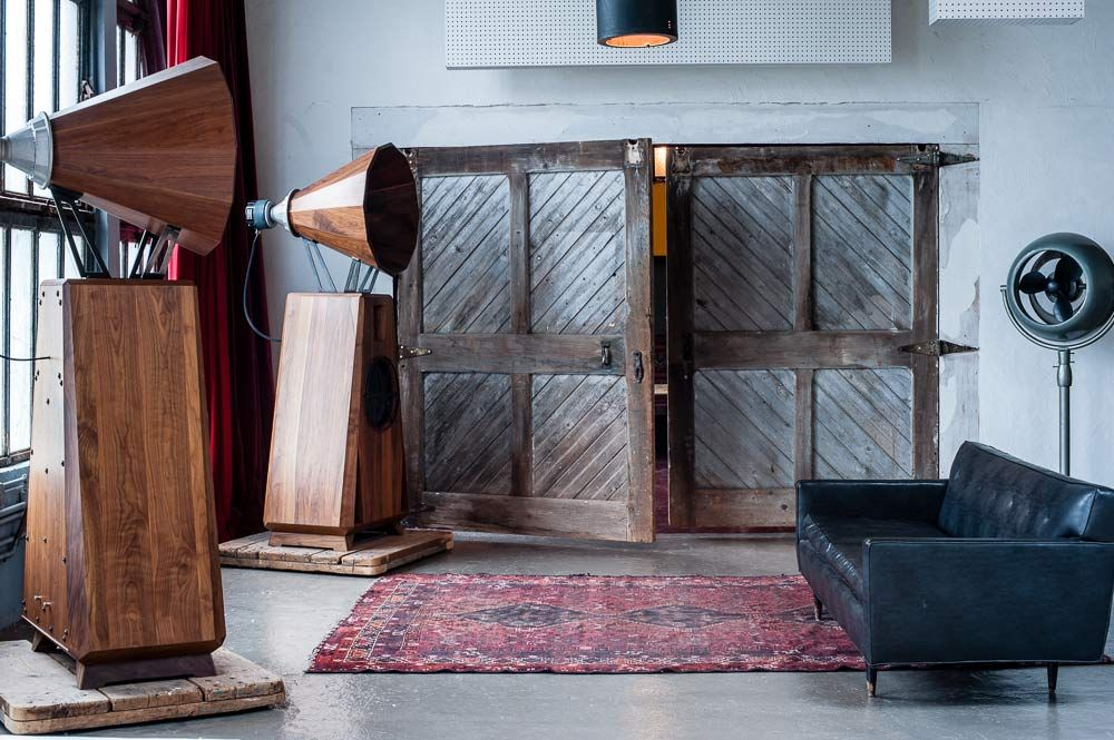 Make a statement with OMA's Walnut AC1 loudspeaker | # ...