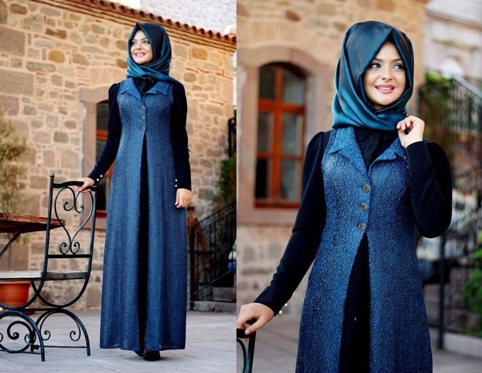 Kislik Tesettur Kombinleri Fashion Pakistani Fashion Hijab Fashion