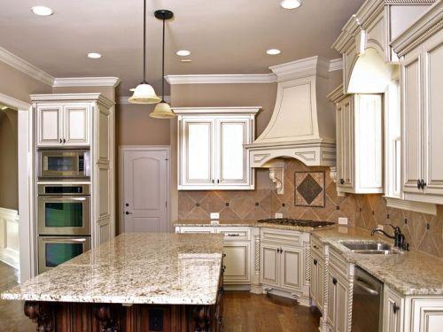 Image of Kitchen Backsplash Ideas for White Cabinets Kitchens