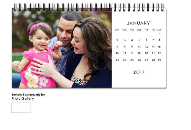 Shutterfly Calendars Custom Photo Calendar Desk Calendars