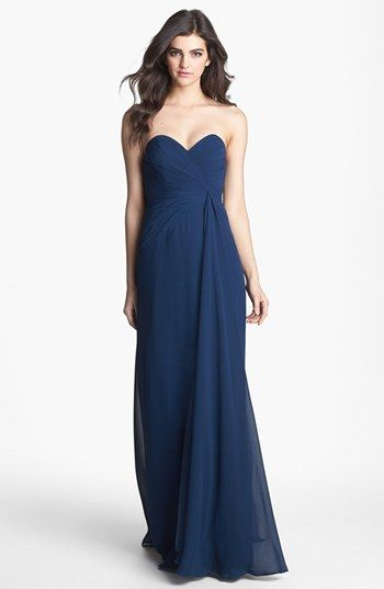 7f7d1163ca5e Faviana Sweetheart Chiffon Gown (Online Only) | Nordstrom | Lágy ...