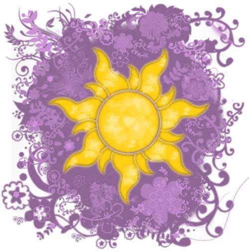 Pin By Kathryn Welden On Roxie S Bedroom Tangled Sun Disney Art Rapunzel Tattoo