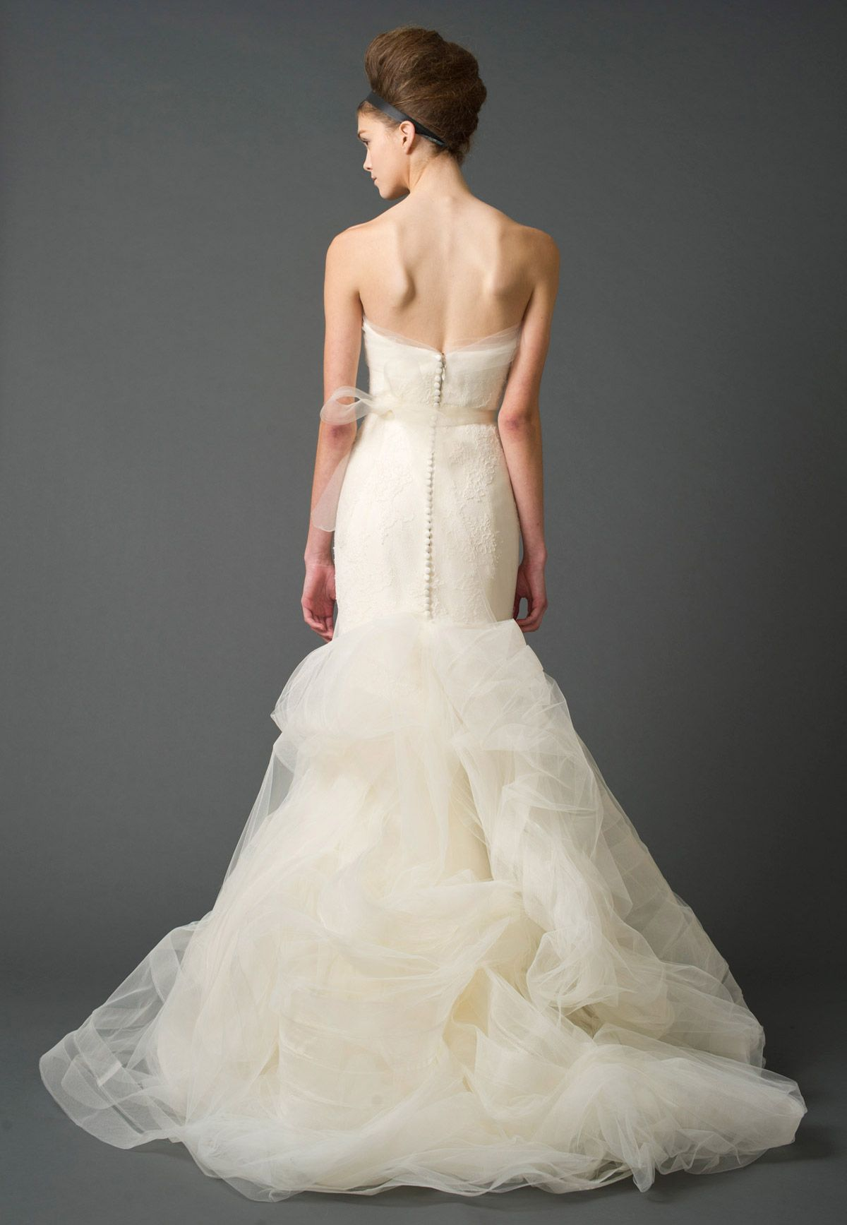 Georgina Back Wedding Dresses, Bridal Gowns by Vera Wang | Iconic ...