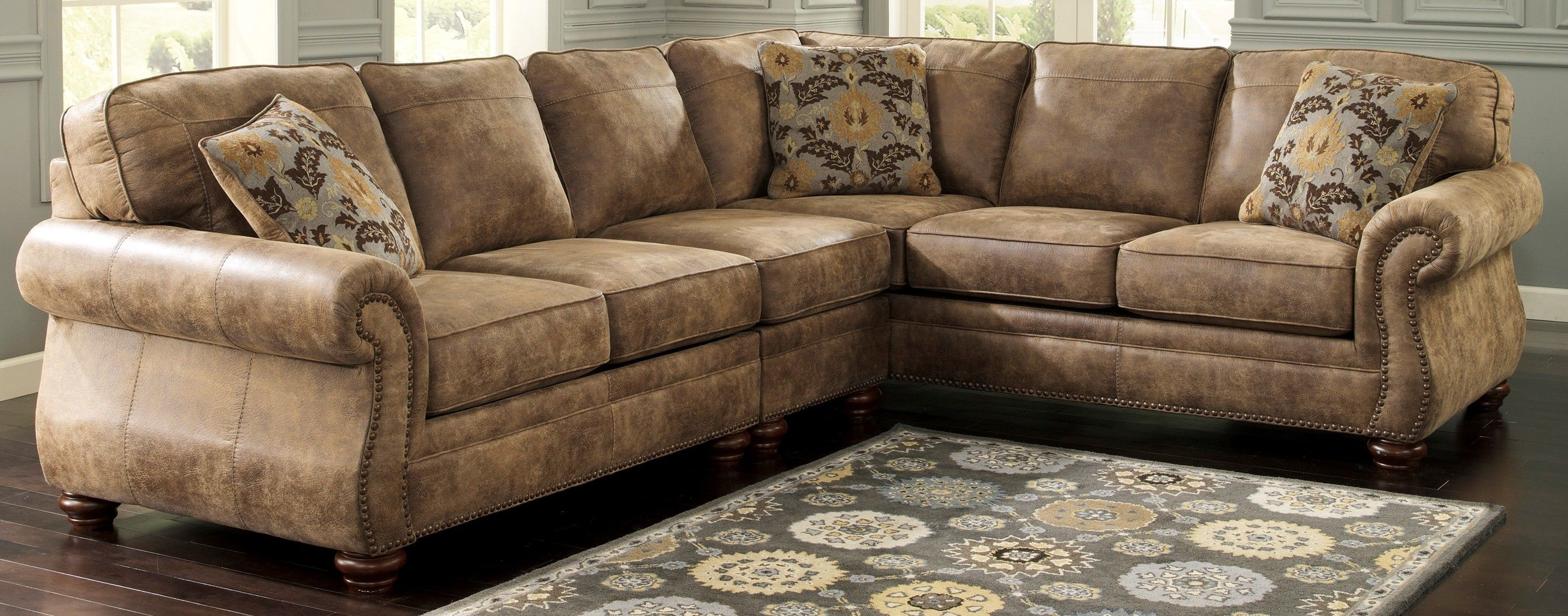 Ashley Furniture Larkinhurst Earth Sectional
