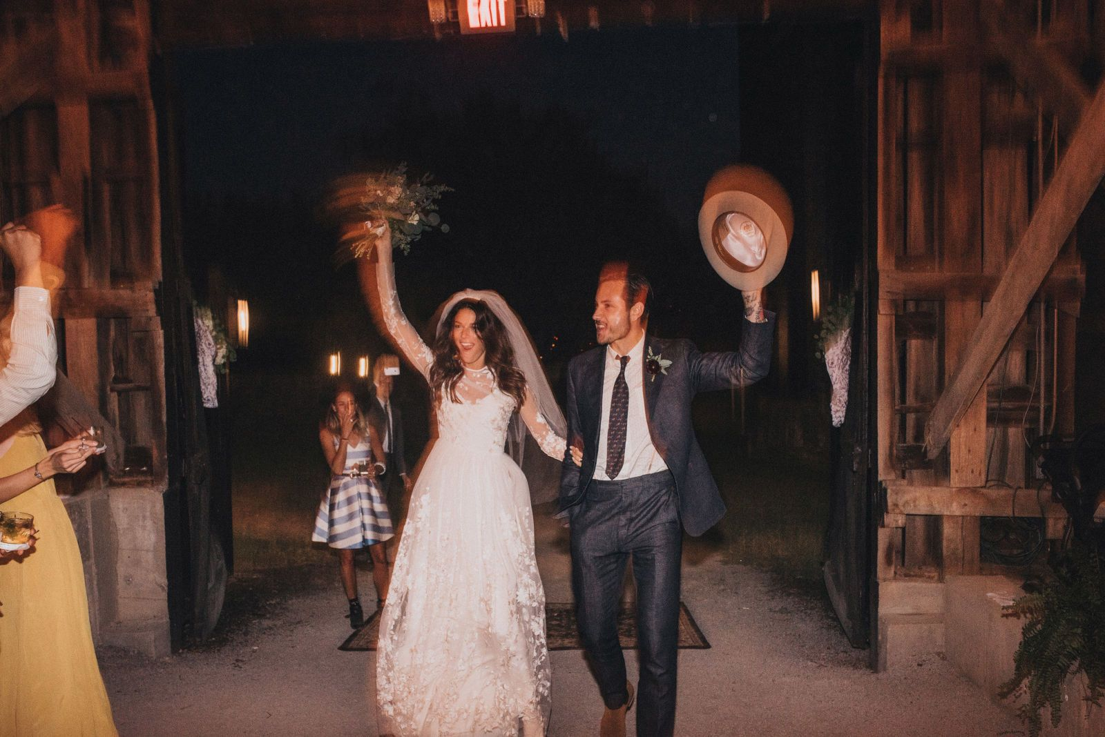 The Ultimate Barn Wedding: Whitney Brown Carlos Naudes Wedding in Kentucky