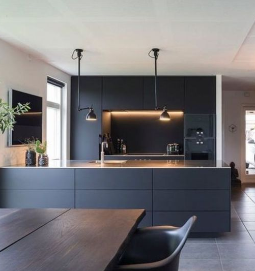 25 Minimalist And Stylish Kitchen Design Ideas #farmhousediningroom
