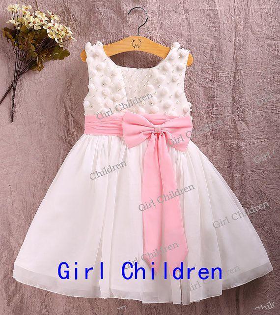 Princess Cute Flower Girl Dress Cute Little Girl by GirlChildren, $38.59