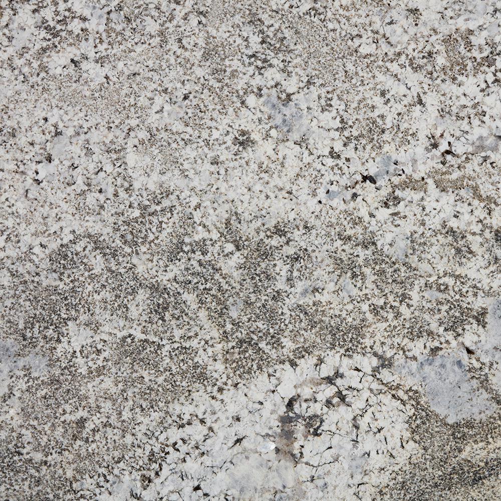 Stonemark 3 In X 3 In Granite Countertop Sample In Silver Falls