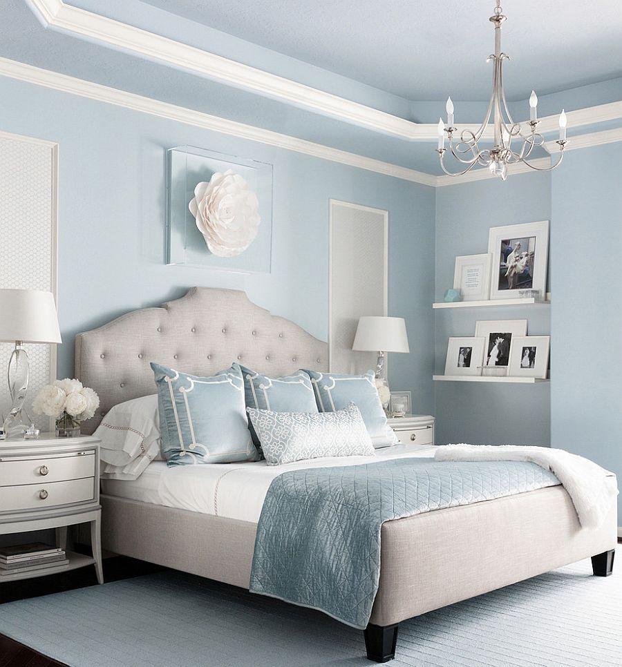 Bedroom Color Trends Soothing Pastels Hold Sway Blue Bedroom Decor Blue Master Bedroom Bedroom Interior Pastel blue bedroom designs