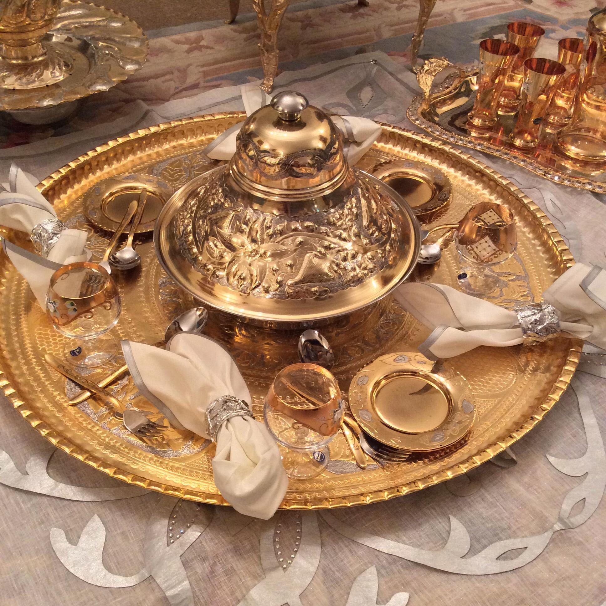 طريقة تقديم الاكل الليبي بصورة مرتبة وجميلة Libyan Food Fresh Mint Tea Dessert Tea