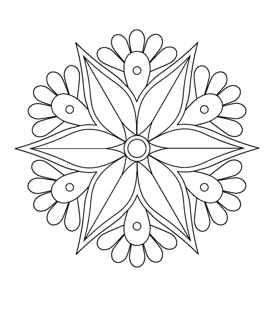 Pin de Ngọc Lưu en tranh | Pinterest | Mandalas, Mandalas pintadas y ...