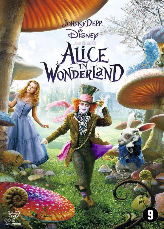 "Alice in wonderland (2010) || gebaseerd op ""Alice in wonderland"" van Lewis Caroll. || Filmkeuring: 9+ || http://www.ikvindlezenleuk.nl/2012/12/op-televisie-alice-in-wonderland.html"