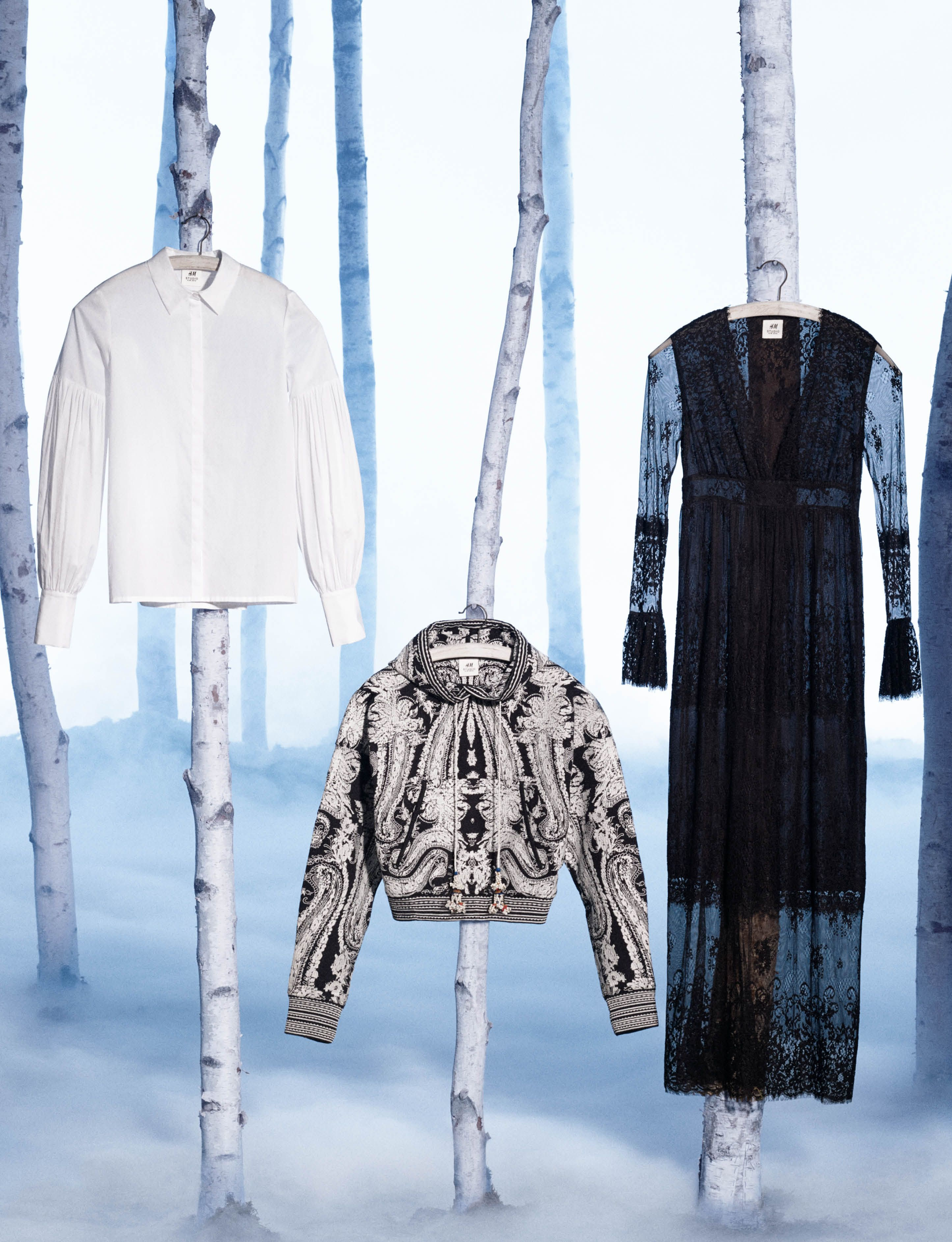 New collection from H&M Studio, including tailored jackets, wide-leg…