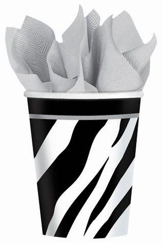 Zebra Eco 9oz Paper Cups 18ct 9oz Paper Cups