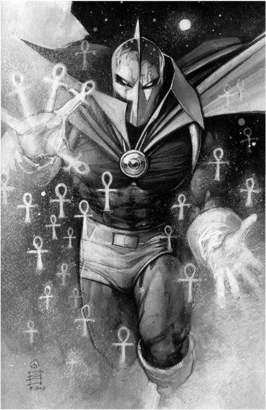 Dr. Fate by Eddy Newell