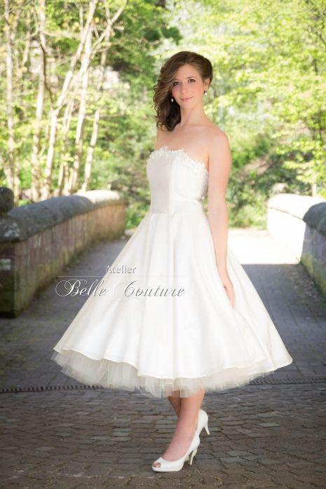 zauberhaftes Brautkleid im 50er Jahre Stil | KLEIDung | Pinterest ...