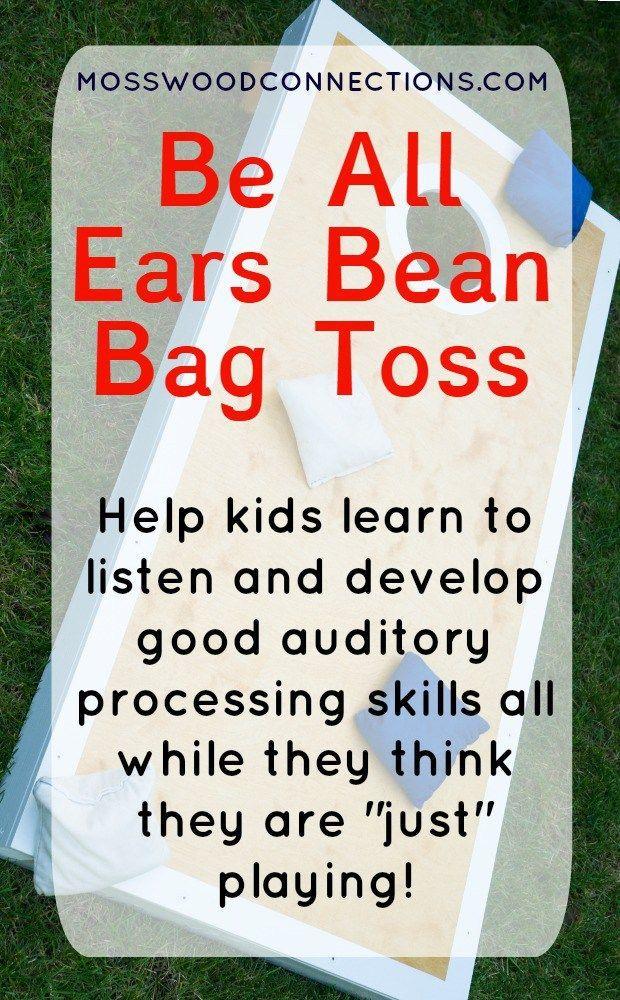 Be All Ears Bean Bag Toss   Autism Spectrum & Special Needs